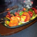 Chicken Tikka Shashlik at the Starlight Indian Restaurant