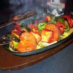 Chicken Tikka Shashlik at the Starlight Indian Restaurant