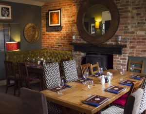 Kings Arms dining room