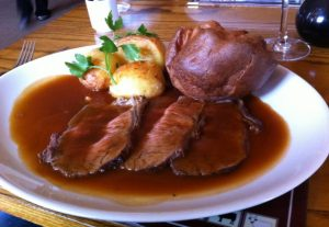 Roast Sirloin of Beef at the Kings Arms