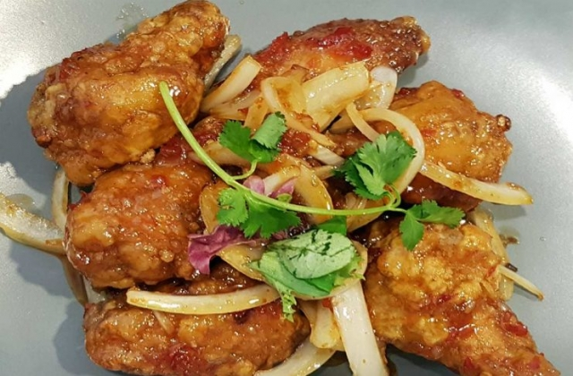 Chinese chicken wings at Hey Hey