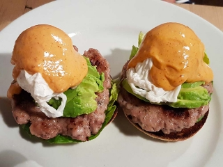 Eggs Benedict with Chipotle sauce
