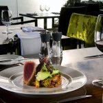 Seared Tuna Roll at Edge Restaurant